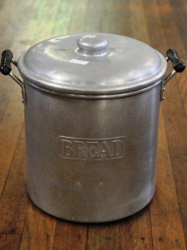 Bread Bin | Period: c1950s | Material: Aluminium
