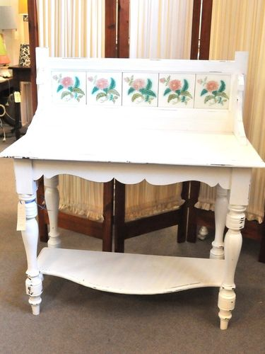 Shabby Chic Washstand | Period: Edwardian c1905 | Material: Painted pine