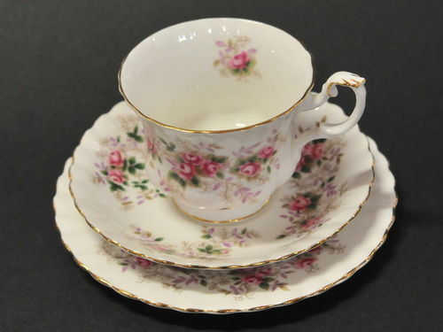 Lavender Rose Trio | Period: c1960s | Make: Royal Albert | Material: Porcelain