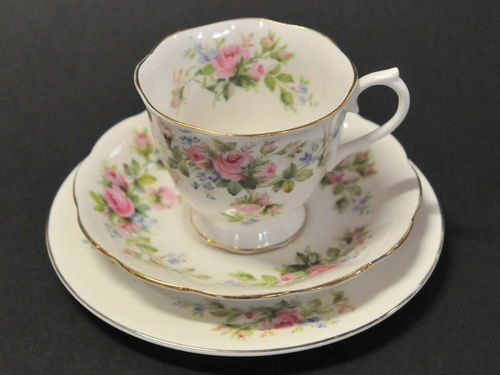 Royal Albert Trio | Period: c1950s | Make: Royal Albert | Material: Porcelain