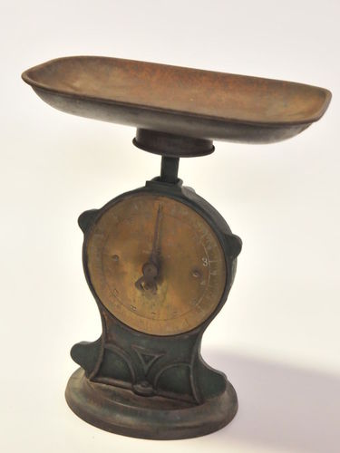 Salter's Scales | Period: Edwardian c1900s | Make: Salter | Material: cast iron and brass