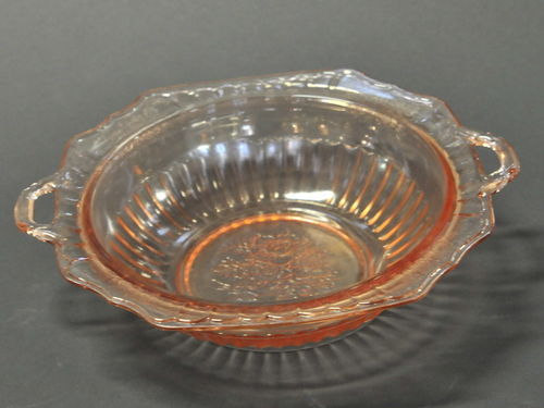 Pink Glass Bowl | Period: c1920s | Material: Pink glass