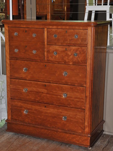 Kauri Chest of Drawers | Period: c1890 | Material: Spotted Kauri Wood