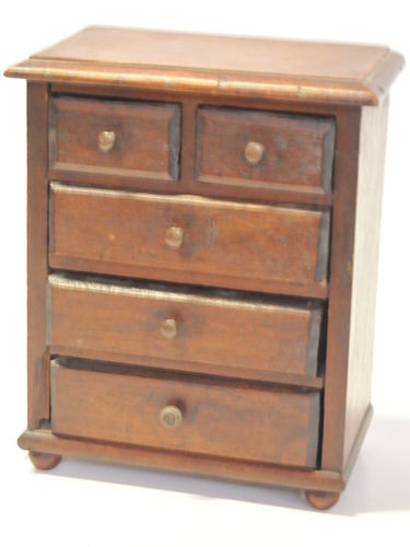 Minature Chest of Drawers | Period: c1920s | Make: Handmade | Material: cedar & pine