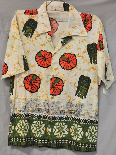 Beach Men's Shirt | Period: c1960s | Make: Sefton | Material: Cotton