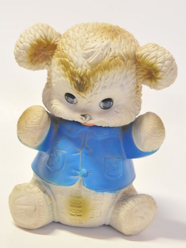 Toy 'Blinking Bear' | Period: c1980s | Material: Plastic