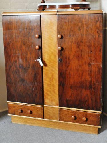 LowBoy- Glory Box   Period: Art Deco c1940s   Material: Pine & veneer