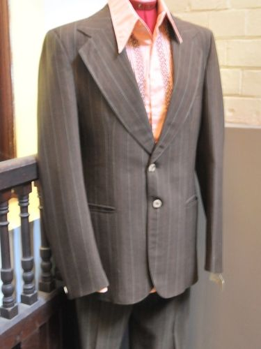 3pce Men's Suit | Period: c1970s | Make: Flair Celsius 30 | Material: 70% wool, 30% polyester