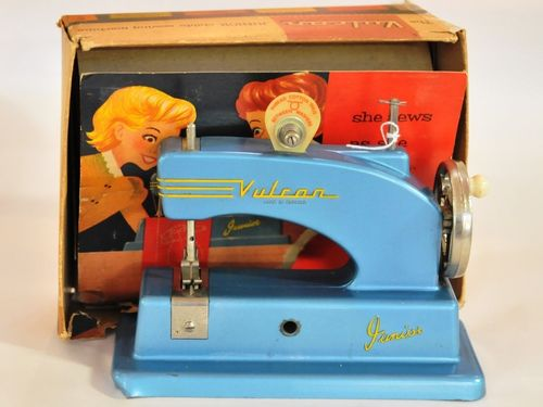 Child's Sewing Machine | Period: 1957 | Make: Vulcan Junior | Material: Various metals