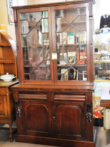 Astragal Glazed Bookcase | Period: Victorian c1890 | Material: Mahogany