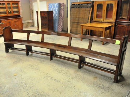 Church Pews   Period: c1890   Material: Maple