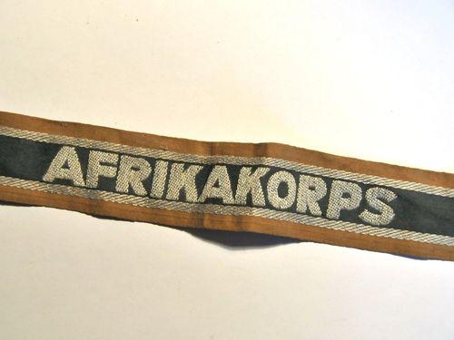 Afrikakorps Cuff | Period: WW2- 1939-45