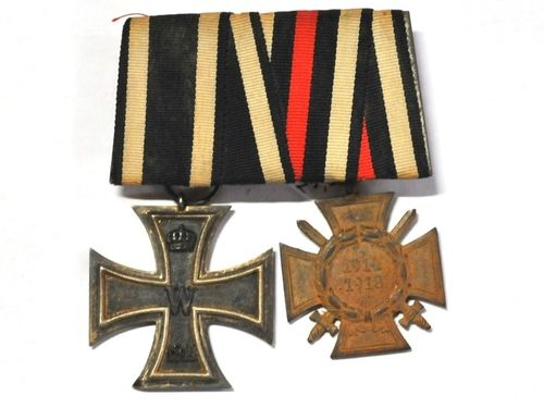 German WW1 Medal Bar | Period: WW1, 1914-18