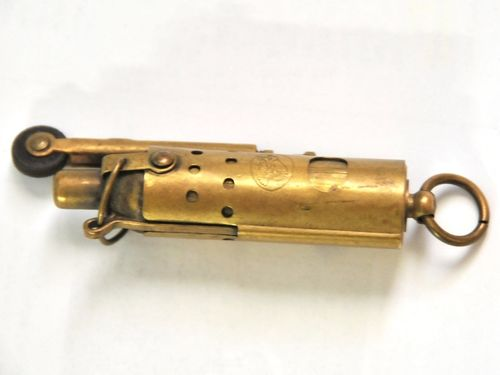 Vintage Cigarette Lighter | Period: cWW2 | Material: Brass