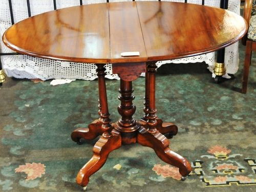 Sutherland Table | Period: Victorian 1880 | Material: Walnut
