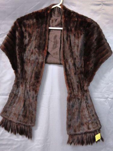 Mink Stole | Period: c1940s | Material: Mink fur
