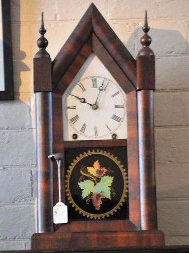 Steeple Case Mantle Clock | Period: c1855 | Make: Jerome & Co.