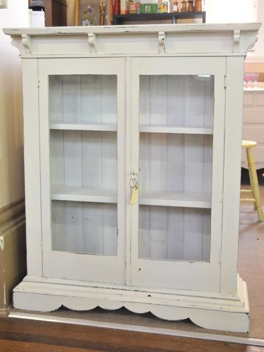 Bookcase / China Cabinet | Period: c1930 | Material: Pine Timber