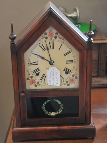 Steeple Clock | Period: c1920s | Make: Seth Thomas | Material: Timber