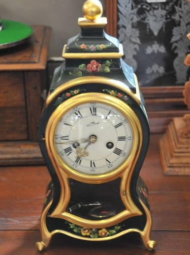 Boulle Mantle Clock | Period: c1980s | Make: Grmam