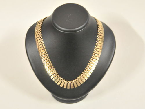 Gold Collier | Period: c1950 | Material: 9ct. gold