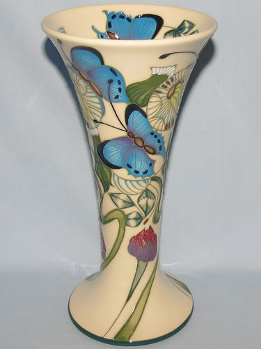Moorcroft Butterfly vase | Period: Contemporary | Make: Moorcroft | Material: Pottery | Moorcroft Butterfly Collection vase 85/8