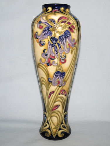 Moorcroft Lovelock vase | Period: Contemporary | Make: Moorcroft | Material: Pottery | Moorcroft Lovelock vase 121/10
