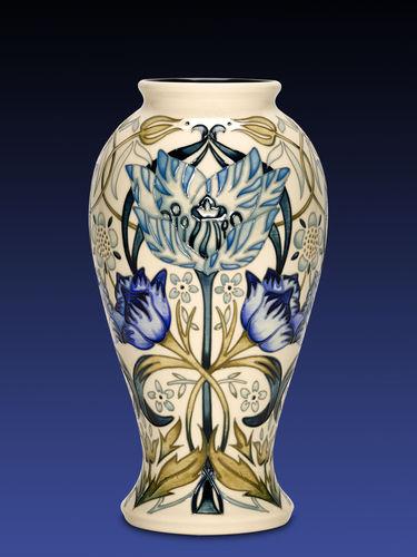 Moorcroft Garden Tulip vase | Period: Contemporary | Make: Moorcroft | Material: Pottery | Moorcroft Garden Tulip vase 46/10