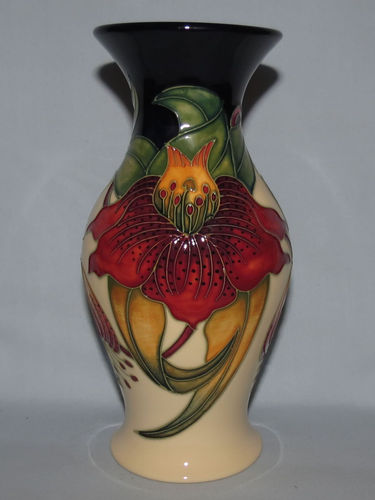 Moorcroft Anna Lily vase | Period: Contemporary | Make: Moorcroft | Material: Pottery | Moorcroft Anna Lily vase 226/7
