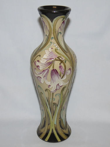 Moorcroft Florian Forever vase | Period: Contemporary | Make: Moorcroft | Material: Pottery | Moorcroft Florian Forever vase 93/10