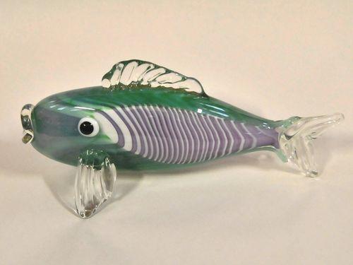 Chris Pantano Fish   Period: c1980   Make: Chris Pantano   Material: Hand blown glass