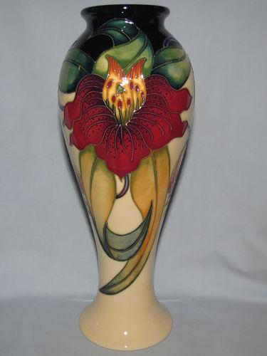 Moorcroft Anna Lily vase | Period: Contemporary | Make: Moorcroft | Material: Pottery | Moorcroft Anna Lily vase 75/10