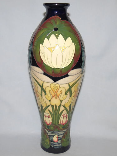 Moorcroft Tranquility vase | Period: Contemporary | Make: Moorcroft | Material: Pottery | Moorcroft Tranquility vase 42/12