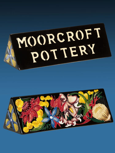 Moorcroft Emblems of a Nation | Period: Contemporary | Make: Moorcroft | Material: Pottery | Moorcroft Emblems of a Nation plaque