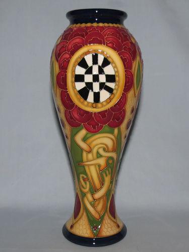 Moorcroft Millefiori vase | Period: Contemporary | Make: Moorcroft | Material: Pottery | Moorcroft Ltd Ed Vase Millefiori 75/8