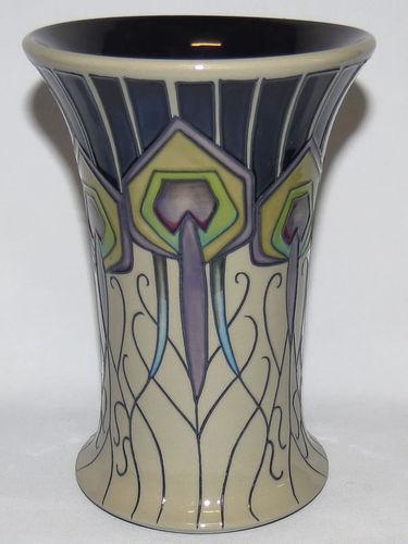 Moorcroft Peacock Parade vase | Period: Contemporary | Make: Moorcroft | Material: Pottery | Moorcroft Peacock Parade vase 158/6
