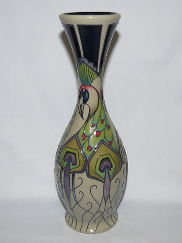 Moorcroft Peacock Parade vase | Period: Contemporary | Make: Moorcroft | Material: Pottery | Moorcroft Peacock Parade vase 81/10