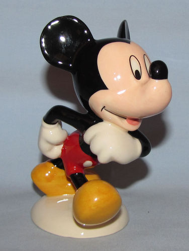 Royal Doulton Mickey Mouse | Period: 1998 | Make: Royal Doulton | Material: Pottery | Royal Doulton Mickey Mouse MM1 70th Anniversary model