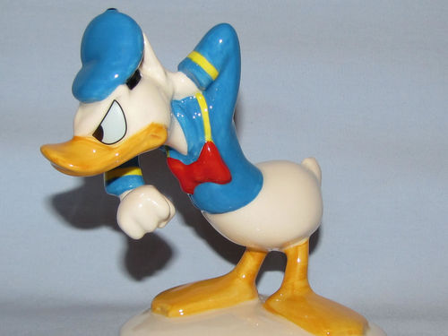 Royal Doulton Donald Duck | Period: 1998 | Make: Royal Doulton | Material: Pottery | Royal Doulton Disney Donald Duck MM3 70th Anniversary