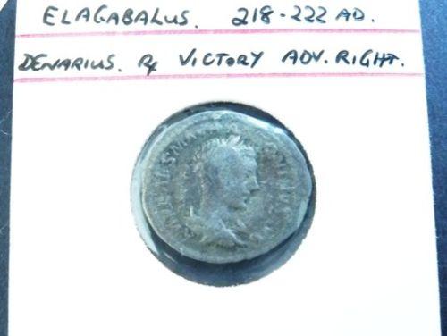 Roman Denarius | Period: 218-222AD | Material: Silver