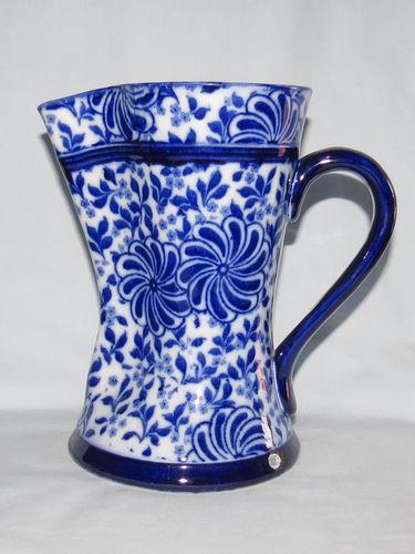 Doulton Burslem Flow Blue jug | Period: c.1900 | Make: Doulton Burslem | Material: Pottery | Doulton Burslem Flow Blue jug