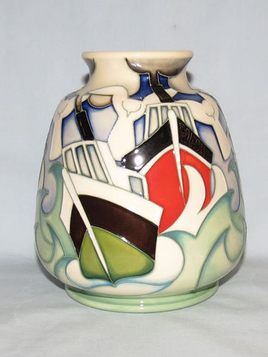 Moorcroft Homeward Bound vase | Period: Contemporary | Make: Moorcroft | Material: Pottery | Moorcroft Homeward Bound Ltd Edition vase