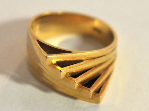 18ct Gold 5 Piece Ring | Period: 1965 | Make: Handmade