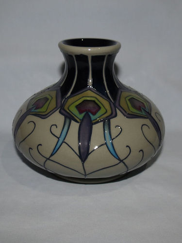 Moorcroft Peacock Parade vase 32/5 | Period: Contemporary | Make: Moorcroft | Material: Pottery | Moorcroft Peacock Parade vase 32/5