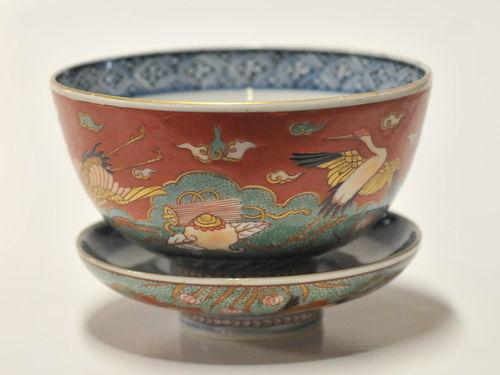 Arita Bowl & Cover | Period: 19th century | Make: Arita | Material: Porcelain