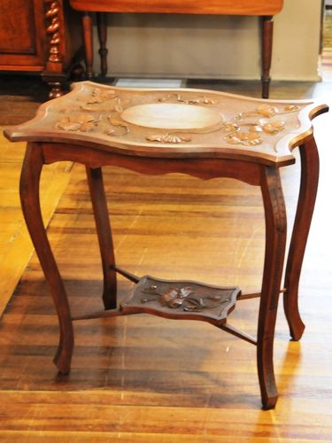 Arts & Crafts Occasional Table | Period: c1910 | Make: Hand Crafted | Material: Blackwood