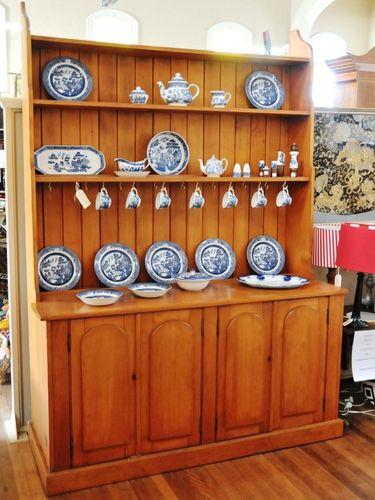 Colonial Hutch- Dresser | Period: Victorian c1890 | Material: Hoop pine