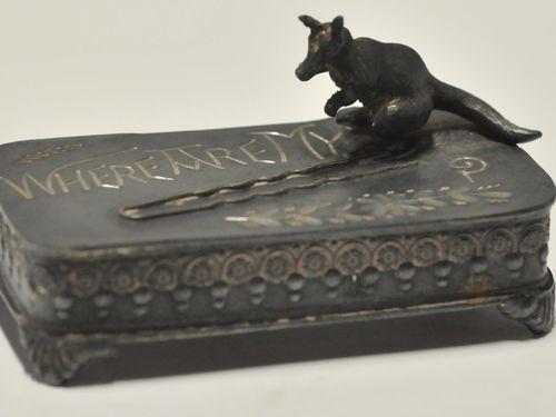 Kangaroo Box | Period: Victorian c1900 | Material: E.P.B.M.