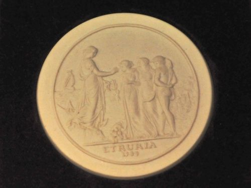 Sydney Cove Medallion | Period: 1975 | Make: Wedgwood | Material: Porcelain