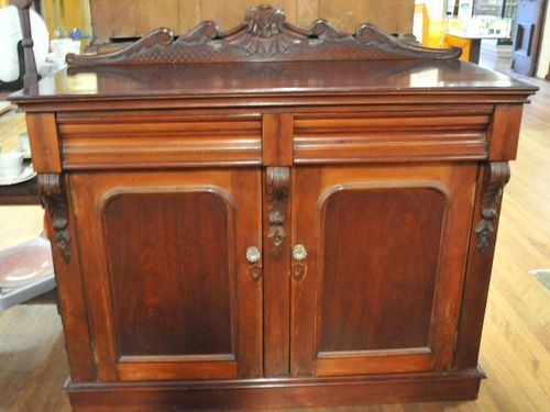 Drinks & Cutlery Cabinet | Period: Victorian 1880 | Material: Mahogany